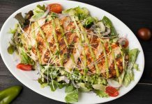 Chicken grilled salad recipe