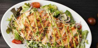 Chicken grilled salad recipe