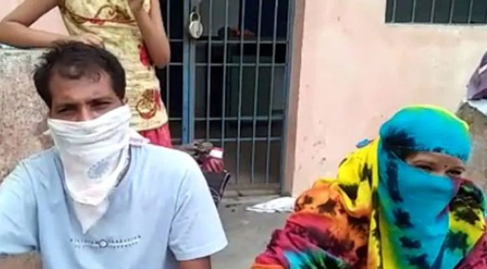 Mother refused entry of son and his wife