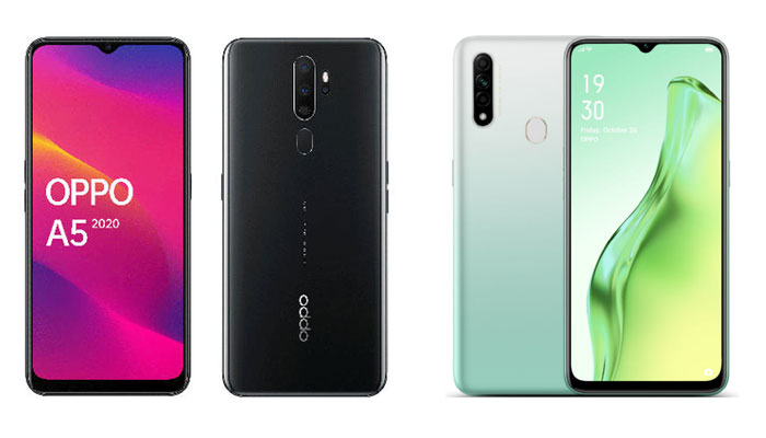 Oppo A5 and Oppo A31