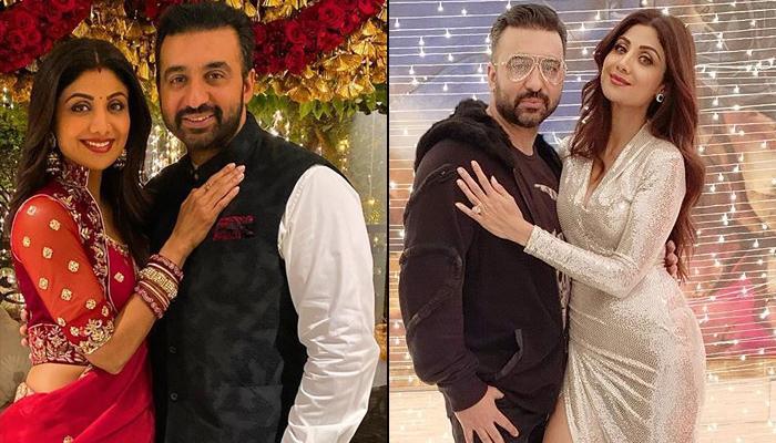 Shilpa Shetty with husband