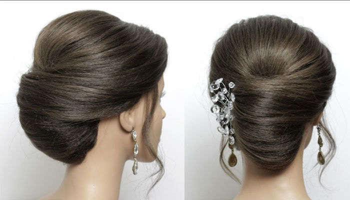 Twist And Roll Hair Style