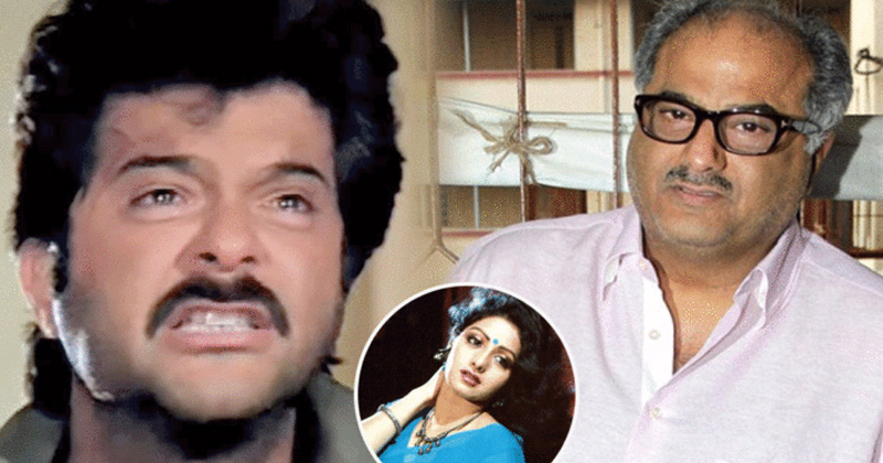 anil kapoor got into a fight with boney kapoor once because of sridev