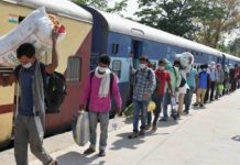 bihar mp and chhattisgarh government will pay train fare for labourers