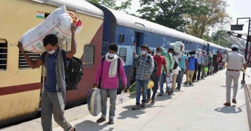 bihar mp and chhattisgarh government will pay train fare for labourers