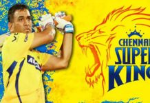csk shares throwback picture of ms dhoni