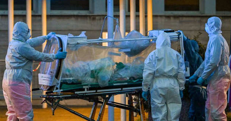 death of a young man from coronavirus saw alive in the morning