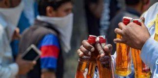 delhi private liquor shops will open with odd even days