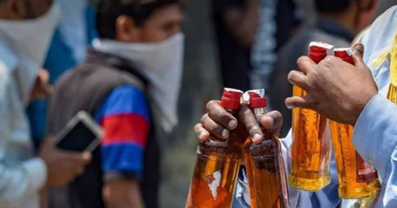 delhi private liquor shops will open with odd even days