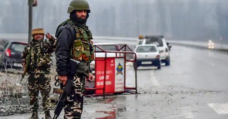 ied attack averted by security force in Pulwama