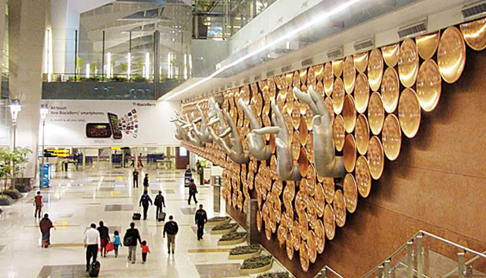igi airport all set for safety after lockdown