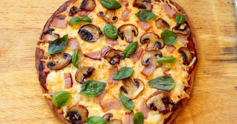 ramzan special dish keto pizza