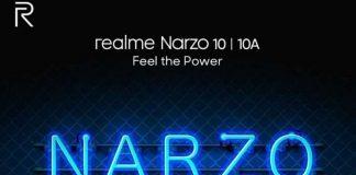 realme narzo 10 narzo 10a india launch today