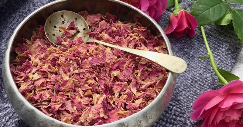 rose petal uses