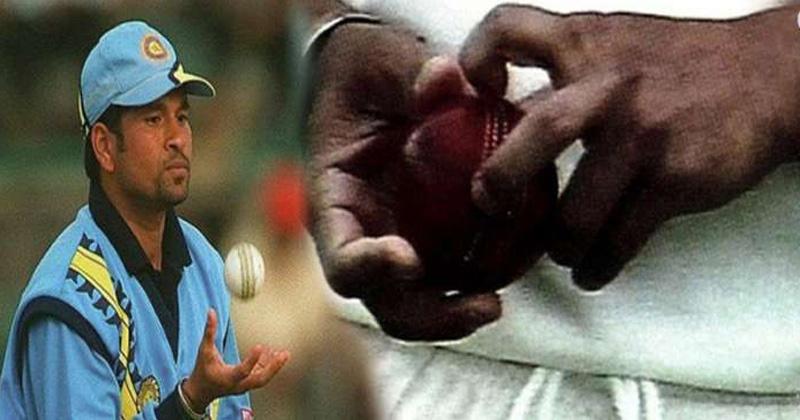 sachin tendulkar ball tampering controversy