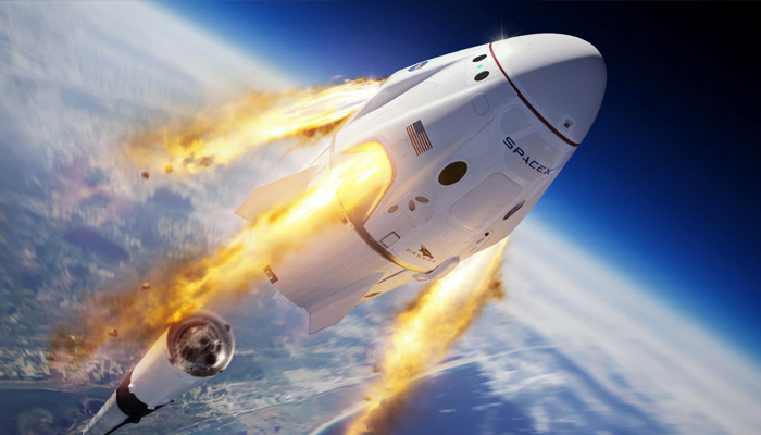 space x crew dragon launch on 27 may