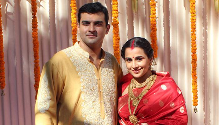 vidya balan married