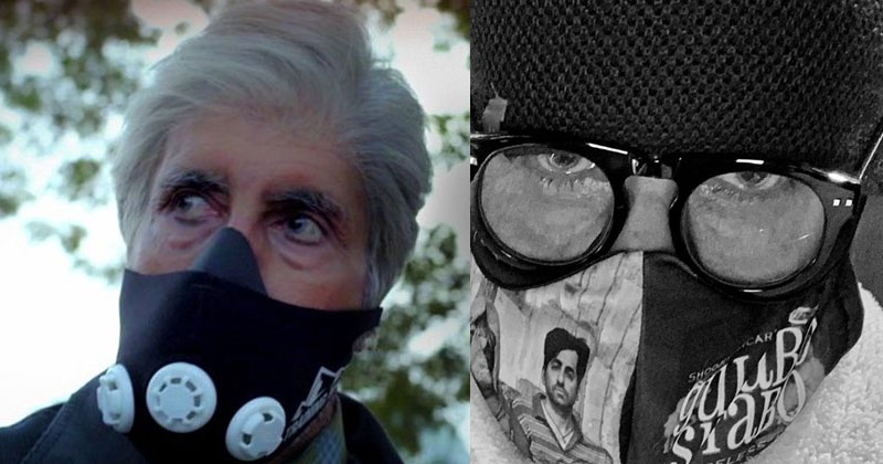 Amitabh bachchan Meaning Of Mask Note for Fans