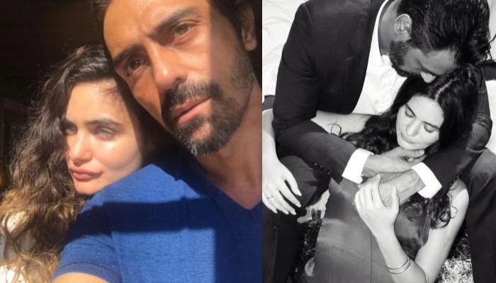 Arjun Rampal With Wife