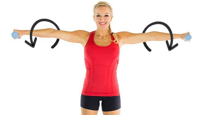 Arm Circles Exercises to Lose Arm Fat