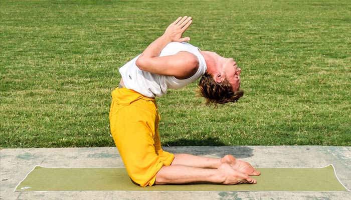 Benefits of Camel Pose Exercise