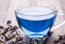 Blue tea