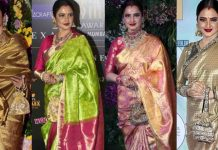 Bollywood Actress In Beautyful Handloom Saree
