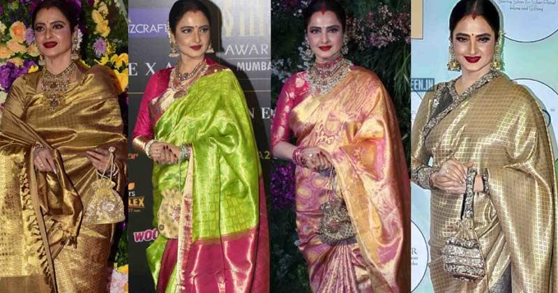 Bollywood Actress In Beautyful Handloom Saree
