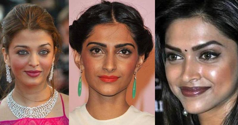 Bollywood Actresses Makeup Blunder