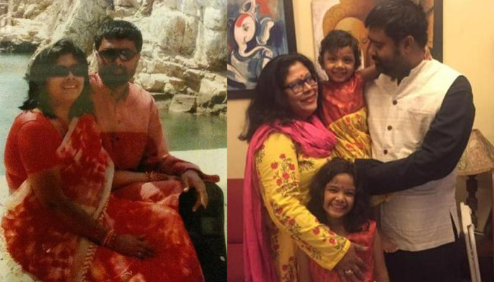 Deepak Chaurasia  With Wife