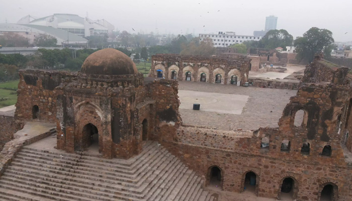 Feroz Shah Kotla Haunted Places