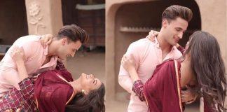 Himanshi khurana asim riaz romance on khyaal rakhya kar Video viral