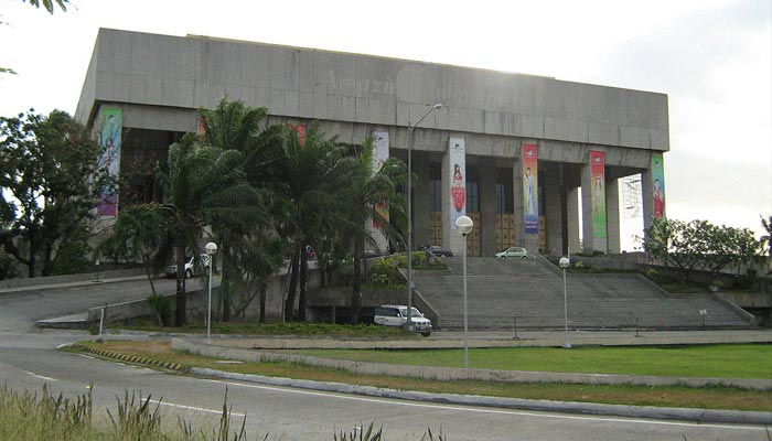 Manila film Center In Philippines