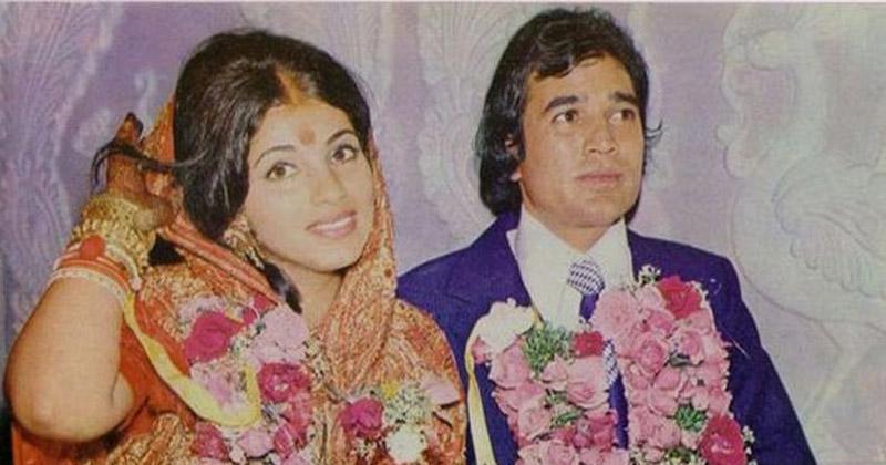Marriage with Rajesh Khanna