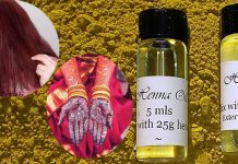 Mehandi Oil For Hair & Skin
