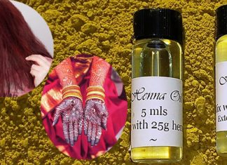 Mehandi Oil For Hair & Skin