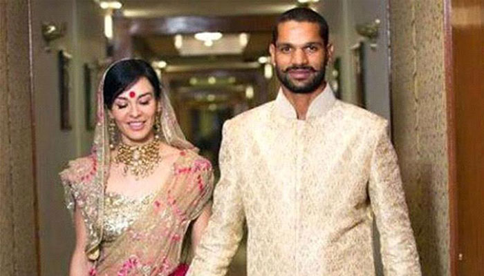 Shikhar Dhawan Indian Cricketer Wife