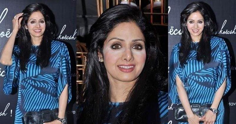 Sridevi Makeup Blunders