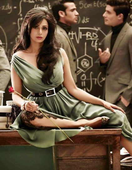 Sridevi new photoshoot