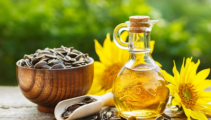 Sunflower Oil for Glowing Skin