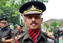 Son of a autoo driver becomes Army Officer