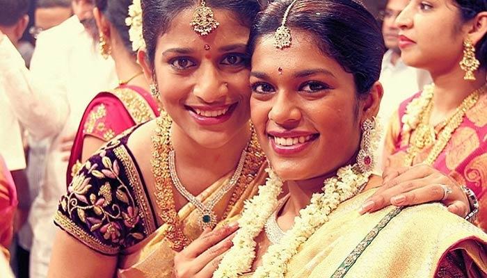 chiranjeevi daughter sushmita and shreja