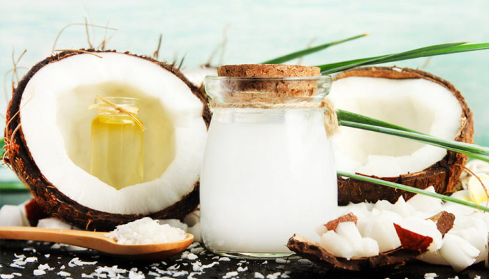 coconut milk for bacterial infection