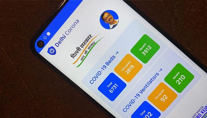 delhi corona app
