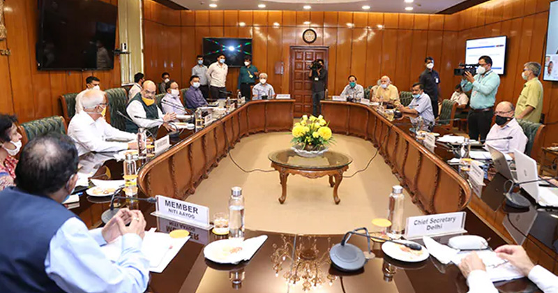 delhi government plans to overcome coronavirus amit shah arvind kejriwal