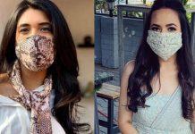 designer printed cotton Face mask Coronavirus