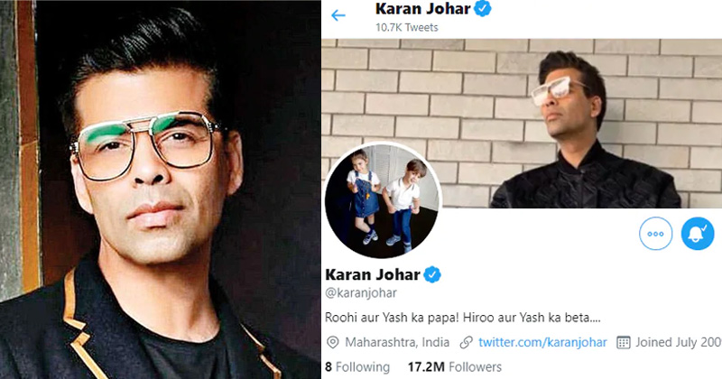 karan johar unfollow actors on twitter
