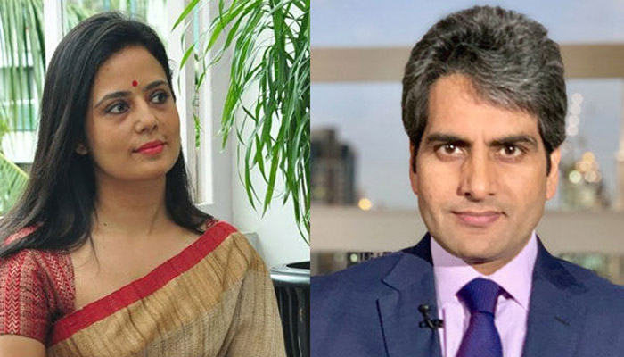 sudhir chaudhary with wife