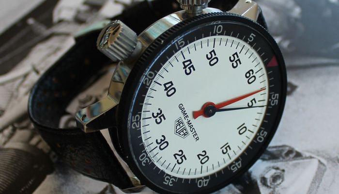 wrist stop watch