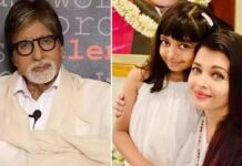 Amitabh Bachchan tweet for Aishwarya Rai and Aaradhya Bachchan
